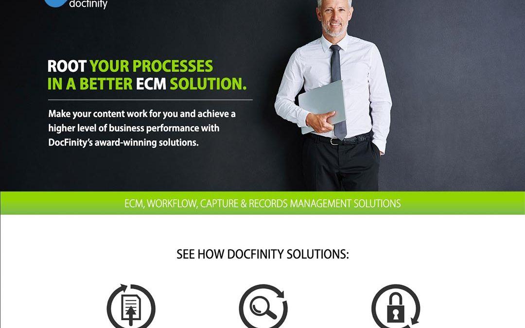 DocFinity Website Design
