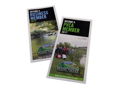 Penns Valley Conservation Association Business and Personal MembershipBrochures