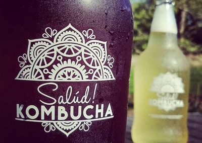 Salud Kombucha Logo