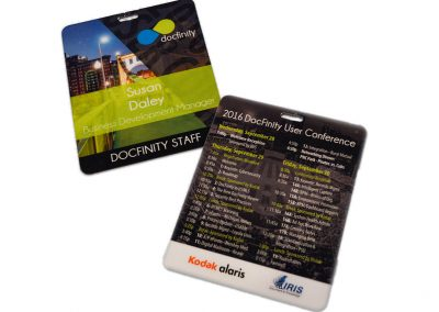 2016 DocFinity User Conference Badge