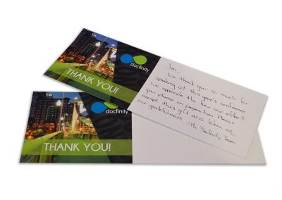 2016 User Conference Thank You Note