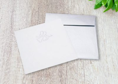 Wedding Invitation and Envelope