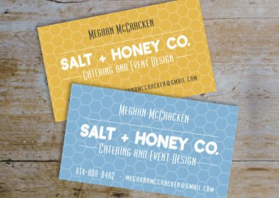 Salt+Honey Co. Business Card + Logo