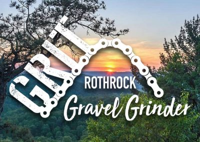 Rothrock GRIT Gravel Grinder Logo Design