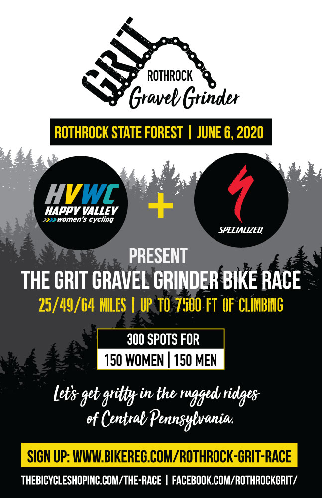 Rothrock GRIT Gravel Grinder Flyer