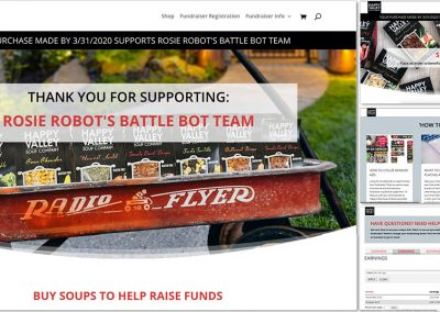 Happy Valley Soup Company Fundraising Site