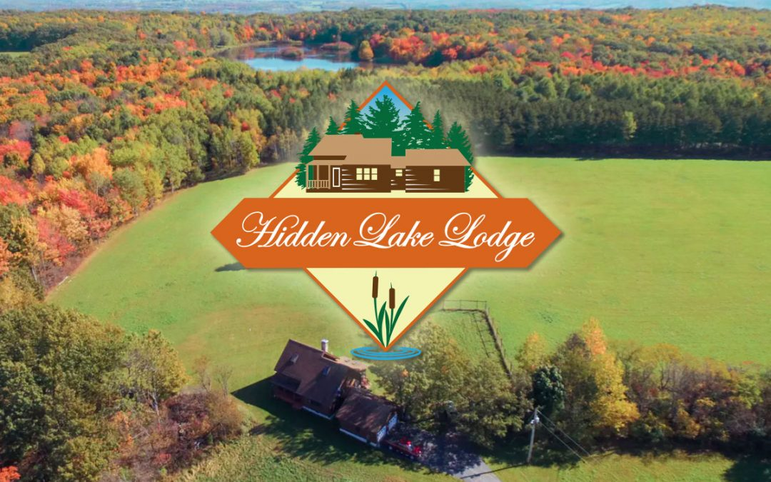 A Logo that Lends Itself to Location: Hidden Lake Lodge