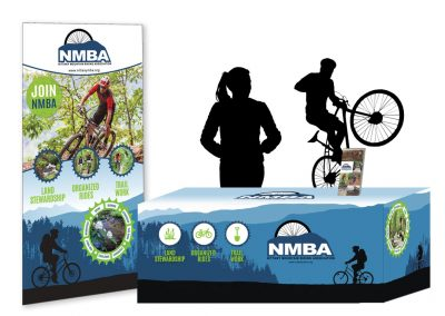 NMBA Pop-up Banner and Table Skirt