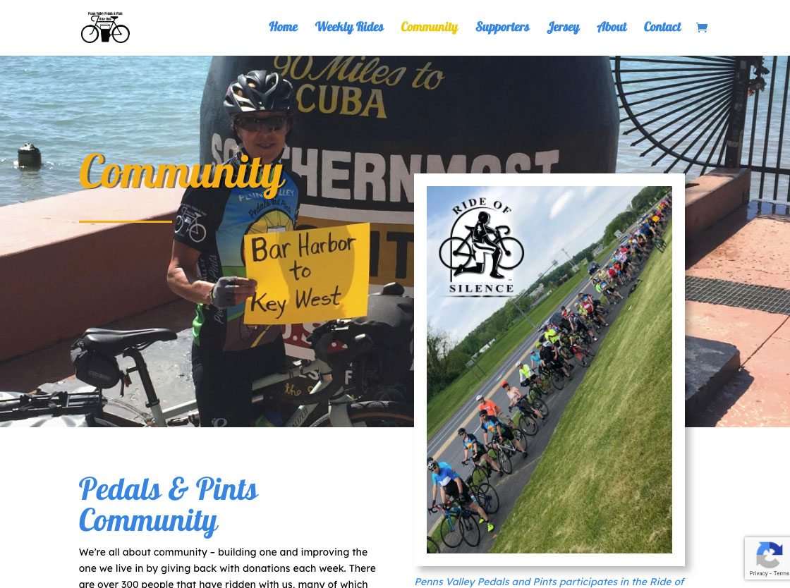 Penns Valley Pedals and Pints Community Page